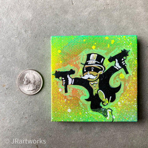 MINI ORIGINAL GET THAT PAPER PAINTING + FREE SHIPPING!