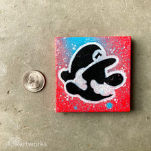 Load image into Gallery viewer, MINI ORIGINAL MiNi MARiO PAINTING + FREE SHIPPING!
