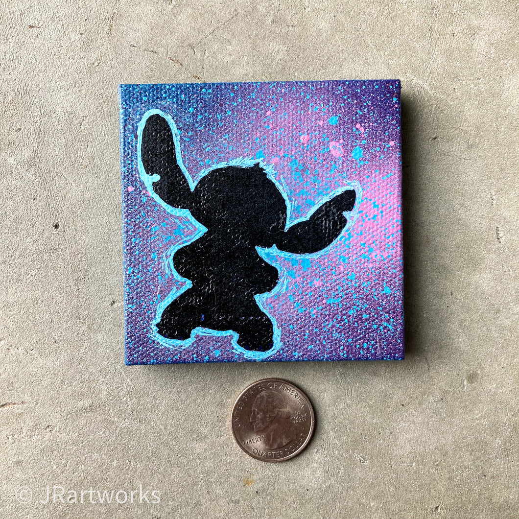 MINI ORIGINAL STITCH PAINTING + FREE SHIPPING!