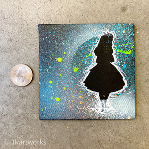 MINI ORIGINAL WONDERLAND PAINTING + FREE SHIPPING! + PROCEEDS DONATED!