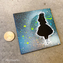 Load image into Gallery viewer, MINI ORIGINAL WONDERLAND PAINTING + FREE SHIPPING! + PROCEEDS DONATED!