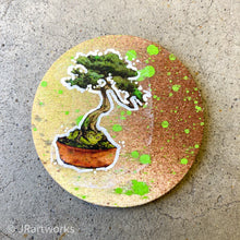 Load image into Gallery viewer, MINI ORIGINAL TINY TREE PAINTING + FREE SHIPPING!