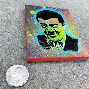 MINI ORIGINAL NEIL DEGRASSE TYSON PAINTING + FREE SHIPPING!