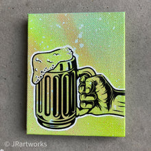 Load image into Gallery viewer, MINI ORIGINAL BEER ME PAINTING + FREE SHIPPING!