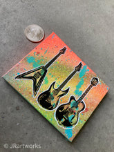 Load image into Gallery viewer, MINI ORIGINAL SLAP THE BASS PAINTING + FREE SHIPPING!