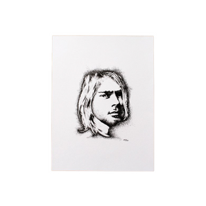 KURT COBAIN INSPIRED ORIGINAL ILLUSTRATION - JRartworks
