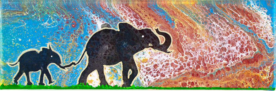 LEAD THE WAY ORIGINAL 12X4' ARTWORK - JRartworks