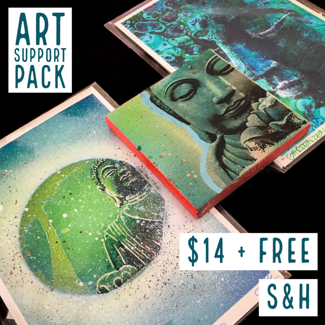 ART SUPPORT PACK - TYPE: D + FREE S&H - JRartworks