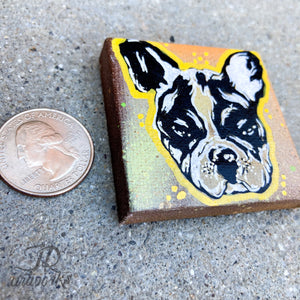 MINI ORIGINAL NORM PAINTING + FREE SHIPPING!
