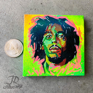 MINI ORIGINAL ONE LOVE PAINTING + FREE SHIPPING!