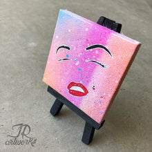 Load image into Gallery viewer, MINI ORIGINAL MARILYN'S SMILE PAINTING + FREE SHIPPING!