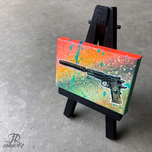 Load image into Gallery viewer, MINI ORIGINAL 007 PAINTING + FREE SHIPPING!