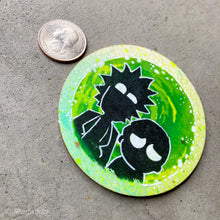 Load image into Gallery viewer, MINI ORIGINAL RICK & MORTY PAINTING + FREE SHIPPING!