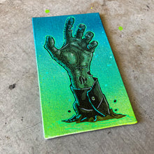 Load image into Gallery viewer, MINI ORIGINAL HALLOWEEN ZOMBIE ARM + FREE PRINT + FREE SHIPPING!