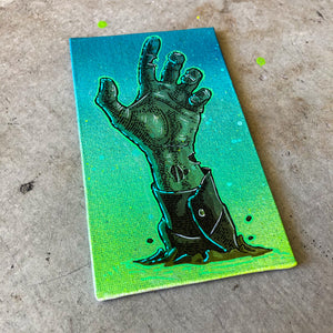 MINI ORIGINAL HALLOWEEN ZOMBIE ARM + FREE PRINT + FREE SHIPPING!