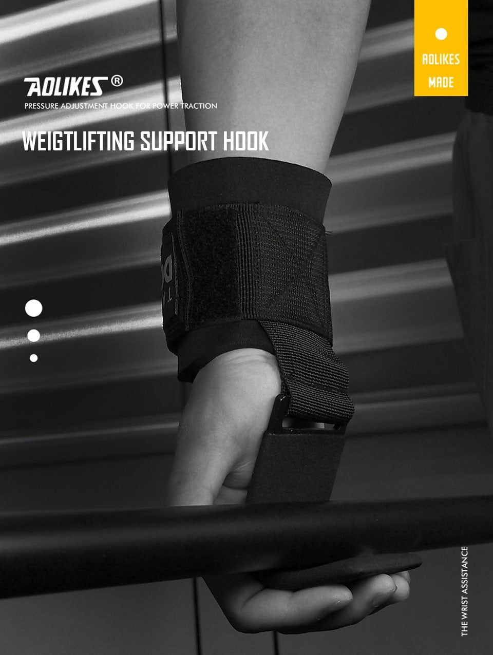 AOLIKES Weight Lifting Support-Hook