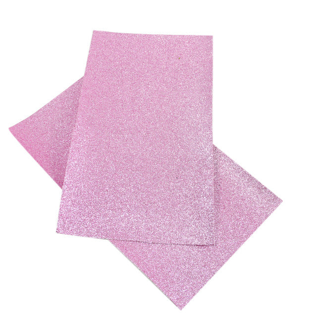 20*34cm Glitter Synthetic Leather Fabric