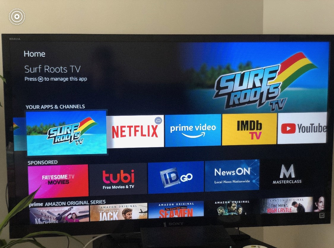 SURF ROOTS CHANNEL NOW ON AMAZON FIRE TV!