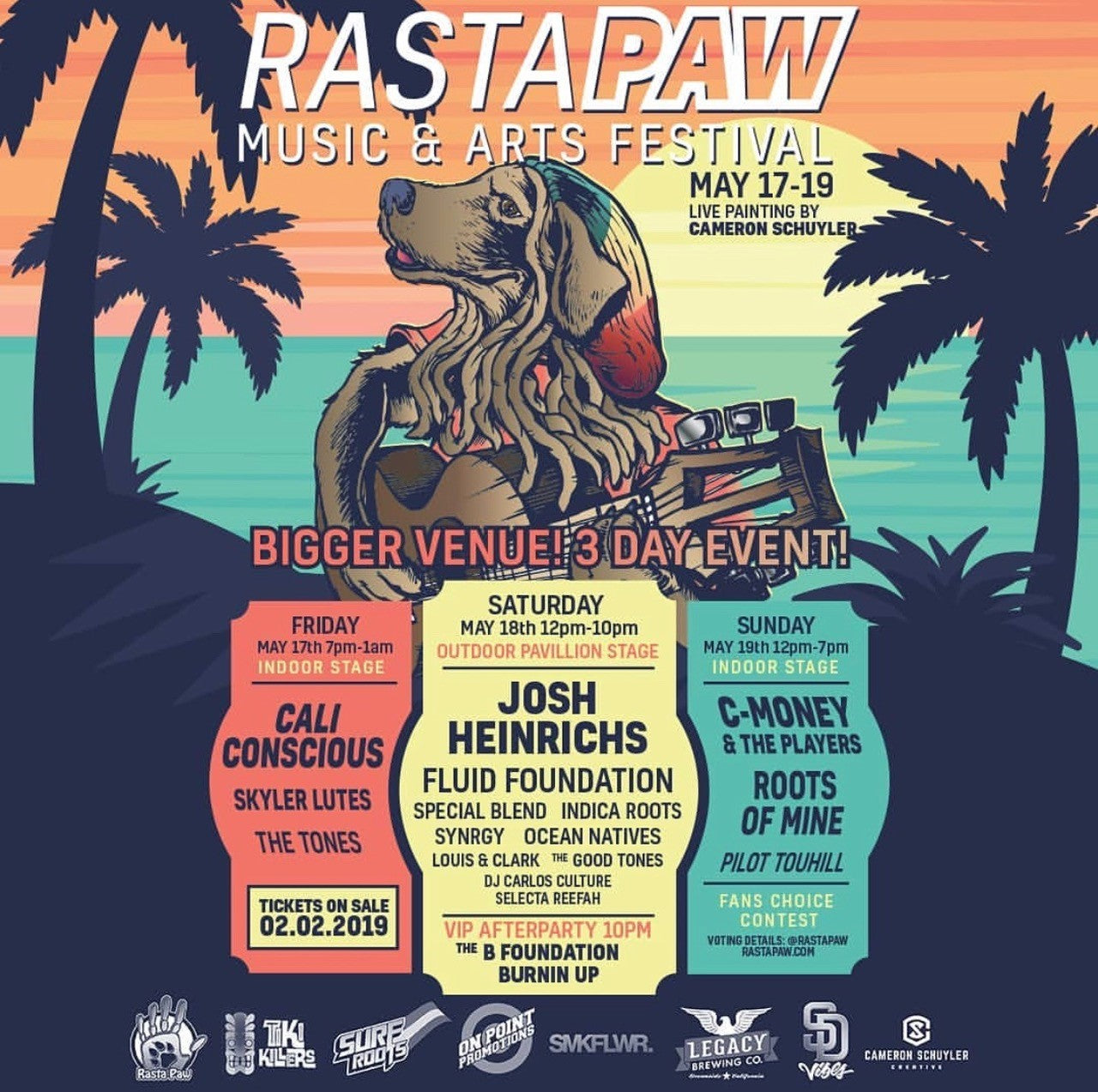 Rasta Paw Fest - Benefit for Animal Rescues