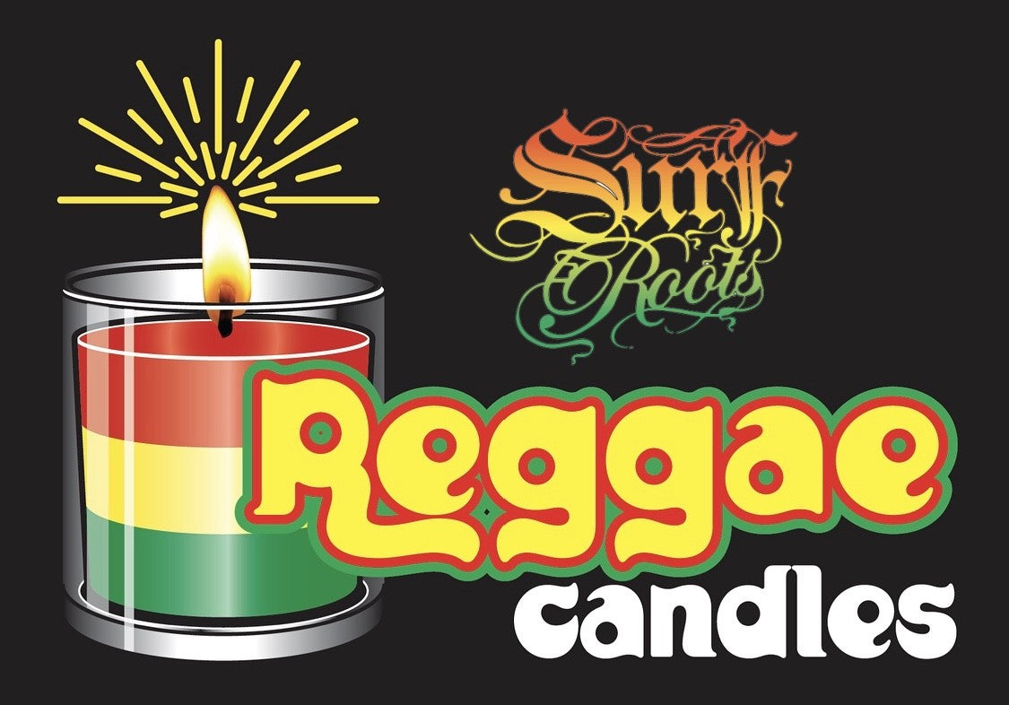 Coming Soon! SURF ROOTS REGGAE CANDLES