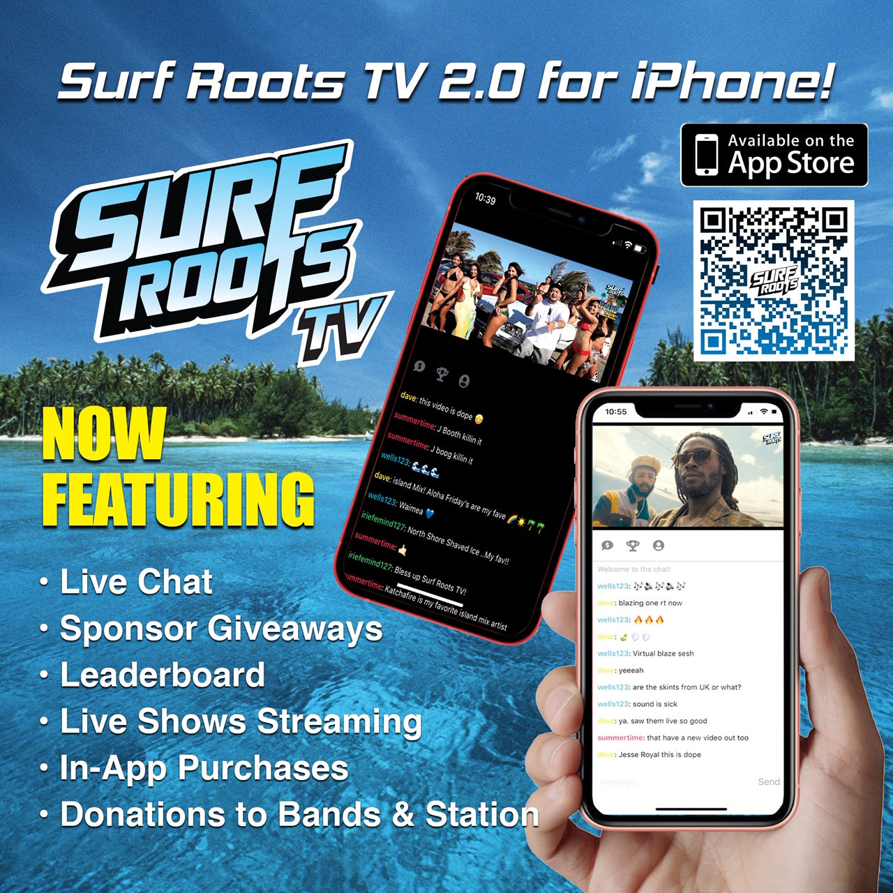 Surf Roots TV 2.0 for iPhone