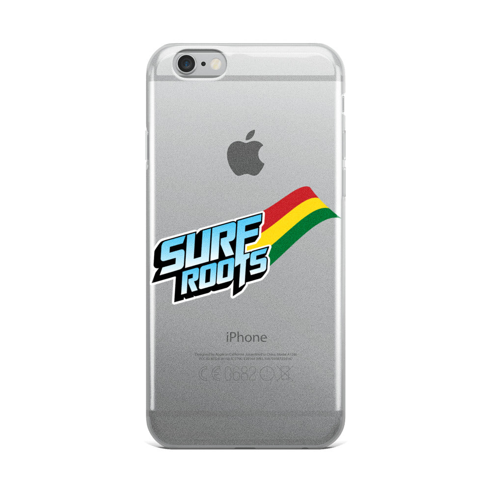 Surf Roots Wave iPhone Case