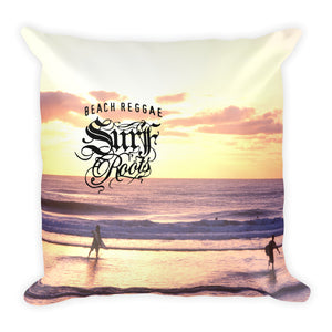 Beach Reggae Surfer Pillow