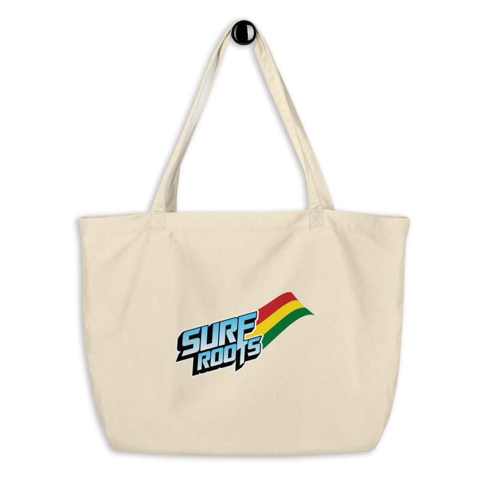 Large organic tote bag