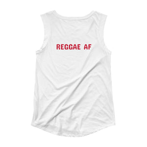 Reggae AF Ladies' Cap Sleeve T-Shirt