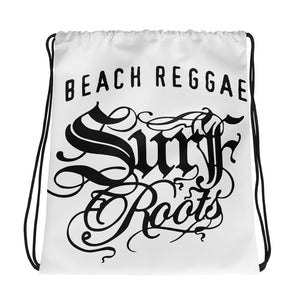 Surf Roots Beach Reggae Drawstring bag