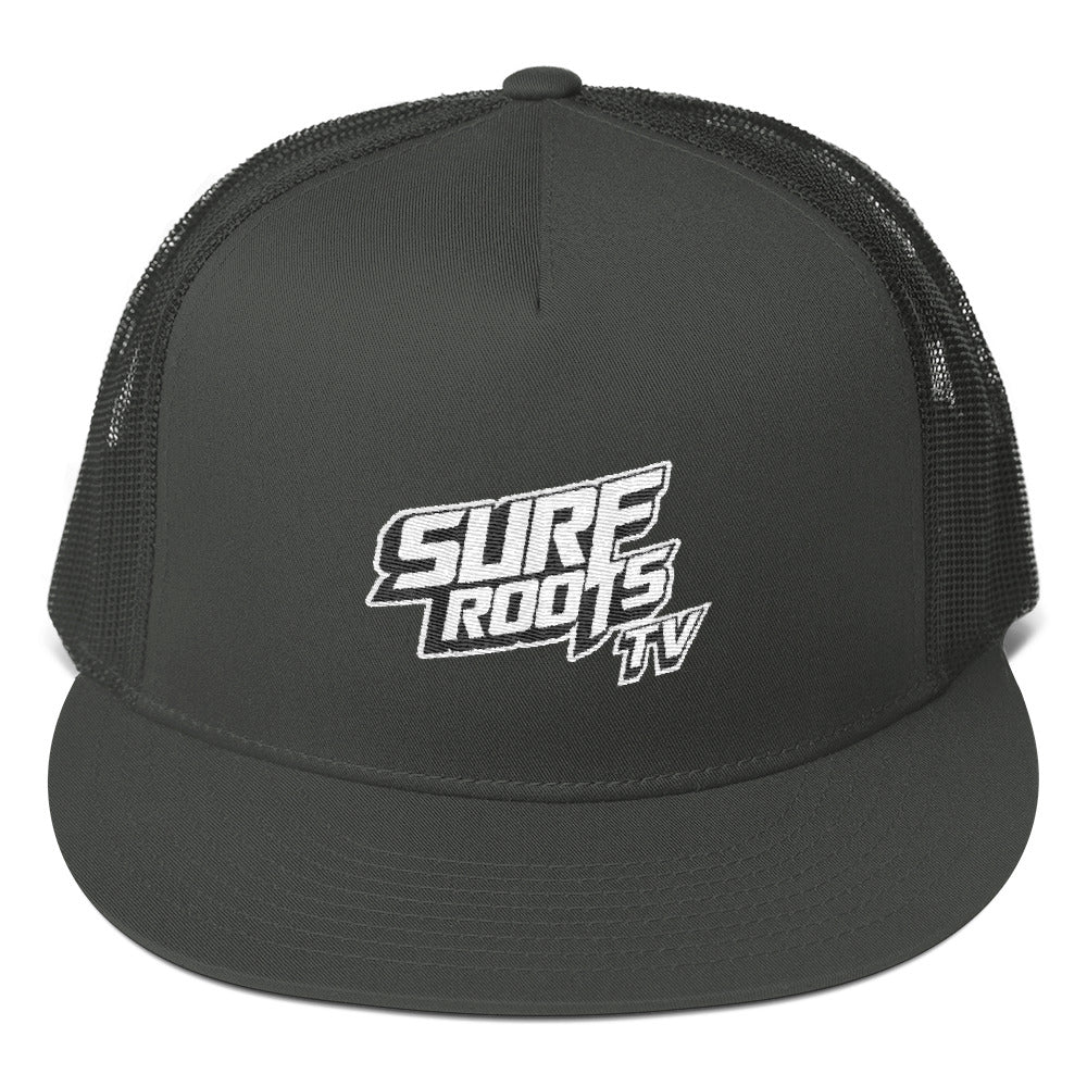 Surf Roots TV Mesh Back Snapback