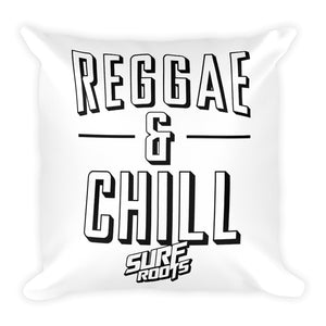 Reggae & Chill Throw Pillow