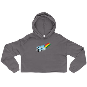 Surf Roots Flag Crop w/Hood