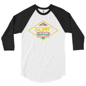 Diamond 3/4 sleeve raglan shirt - Rasta