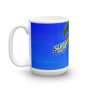 Surf Roots Tropical Mug