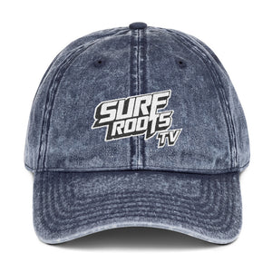 Surf Roots TV Vintage Cotton Twill Cap