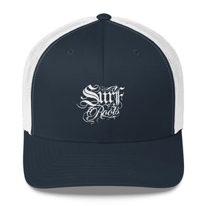 Surf Roots Embroidered Trucker Cap