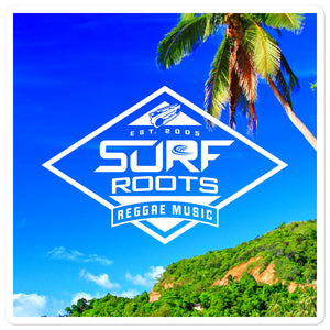 Surf Roots Tropical stickers