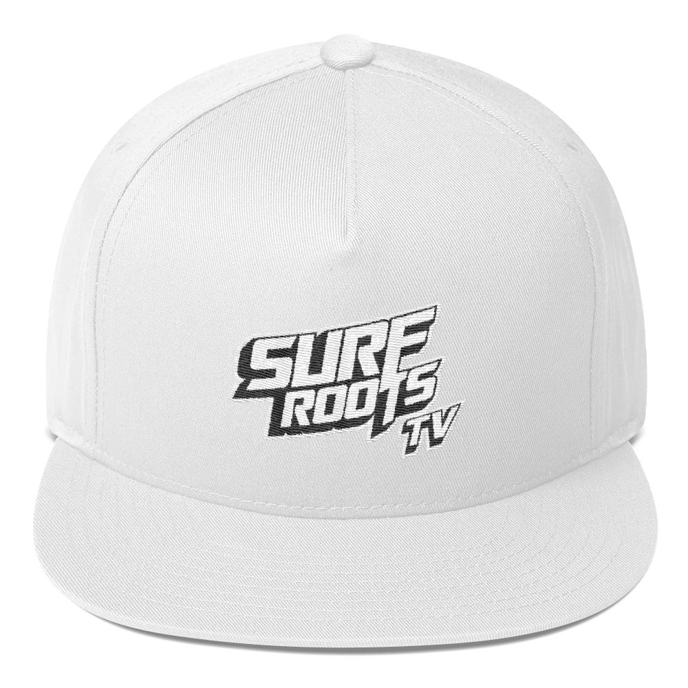 Surf Roots TV Flat Bill Cap