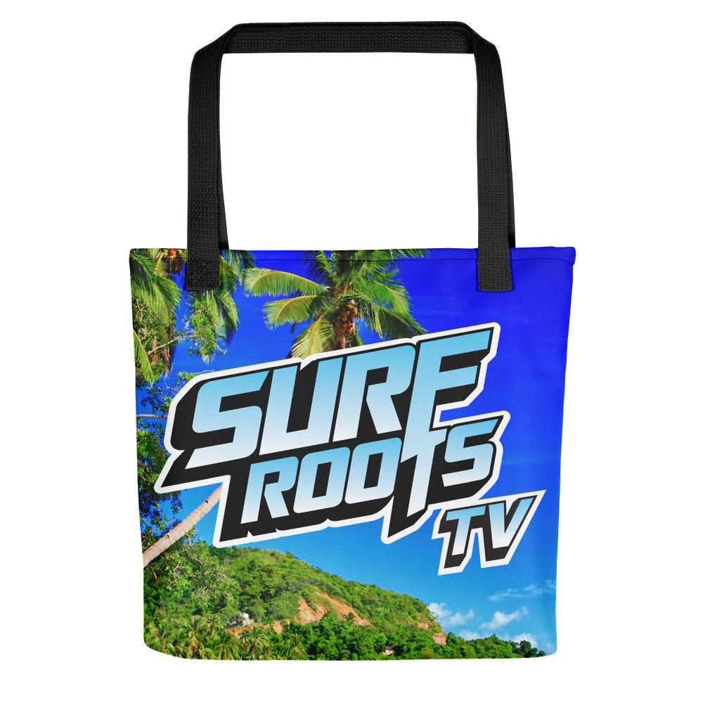 Surf Roots TV Tote bag