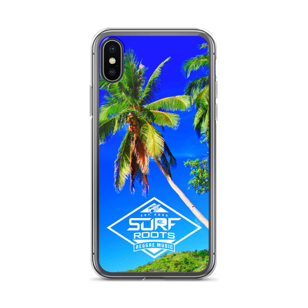 Surf Roots Tropical iPhone Case