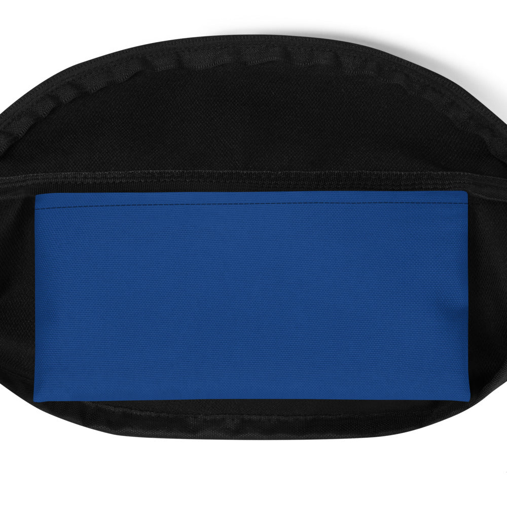 Surf Roots Flag Fanny Pack - Blue