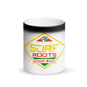 Rasta Diamond Matte Black Magic Mug