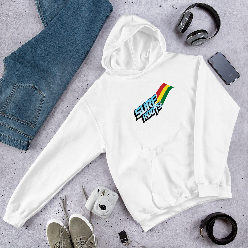 Surf Roots Flag Hooded Sweatshirt