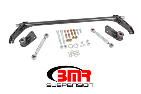 BMR 05-14 S197 Mustang Rear Bolt-On Hollow 35mm Xtreme Anti-Roll Bar Kit (Bearing)- Black Hammertone