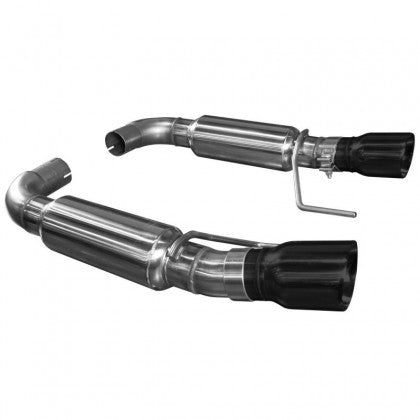 "Kooks 2015-2017 Mustang GT OEM to 3"" Axle Back Exhaust (Black Tips)"