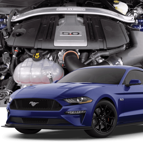 HELLION 2018+ FORD MUSTANG GT STREET SLEEPER HIDDEN TWIN TURBO SYSTEM