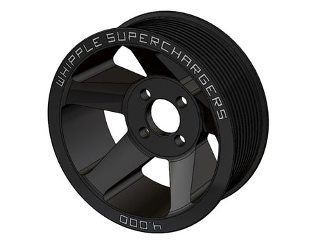 GT500 10-Rib Whipple Supercharger Pulleys