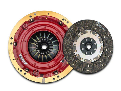 McLeod RST Twin Disc 800HP Organic Clutch Kit - 23 Spline (15-17 GT)