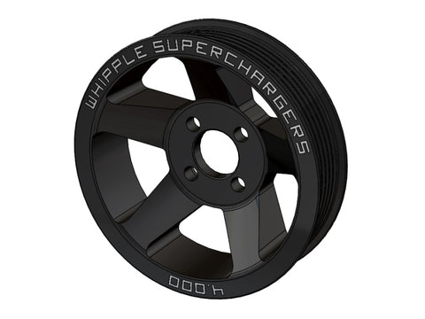 2011-2019 6-Rib Whipple Supercharger Pulleys